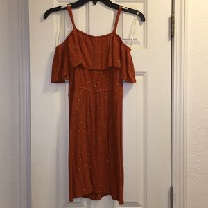 Mossimo Supply Co. Dresses - Mossimo Cold Shoulder Button Down Dress